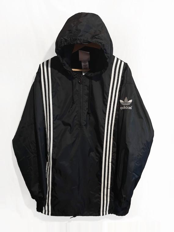 Manteau Vent Adidas Zippé Pluie Coupe Trefoil Smock Pull Etsy wBxqO0xnZ