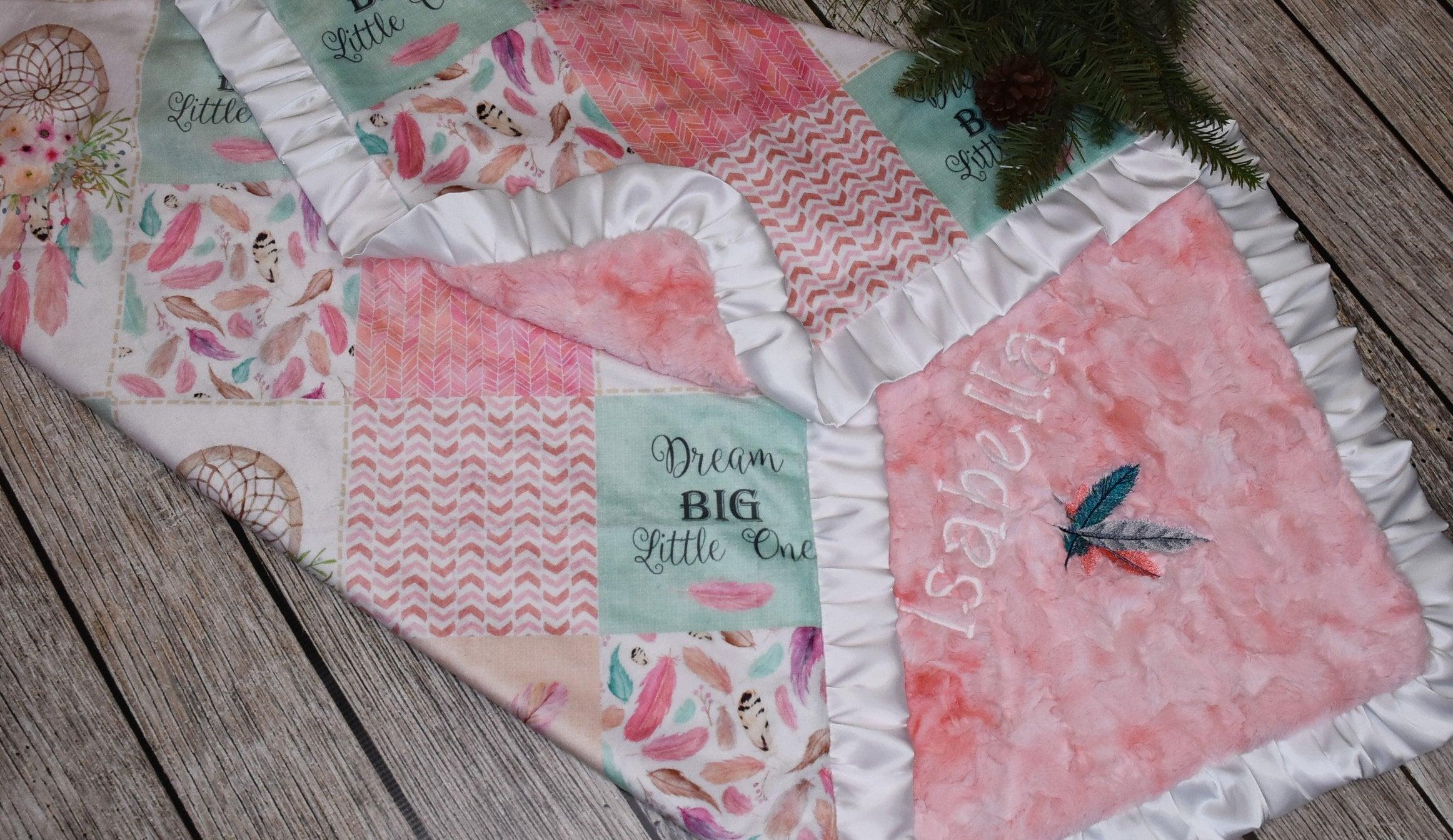 Dreamcatcher Minky Blanket