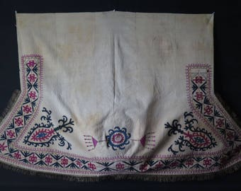 Kirghiz Embroidered Cover Linens & Textiles (pre-1930)