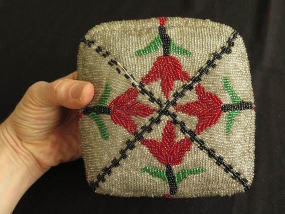 Uzbekistan Hand Beaded Skullcap &  Hat