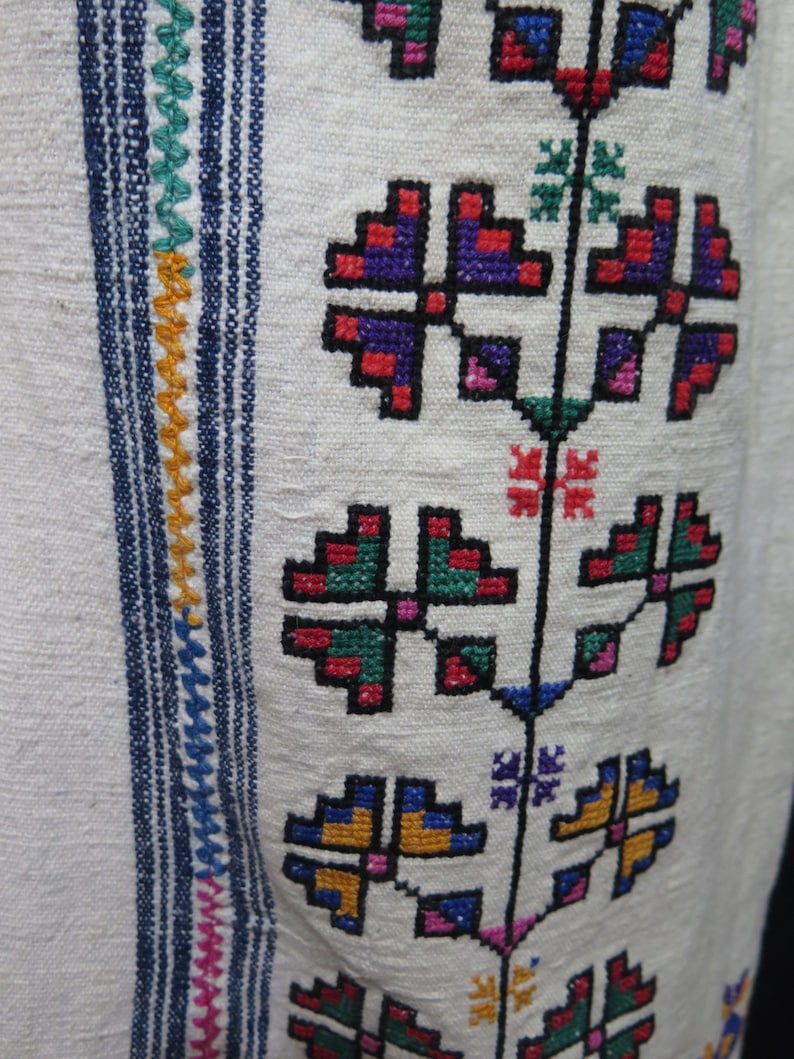 Anatolian Traditional Cotton Hand Loomed and embroidered Koynek /&  Dress