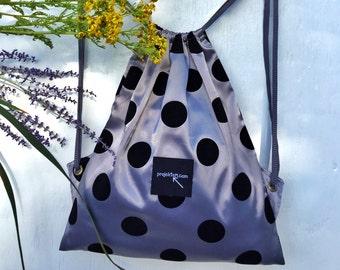 Drawstring backpack/festival bag/handbag/weekend bag/holidays/boho style/unique/Easter gift/Springtime