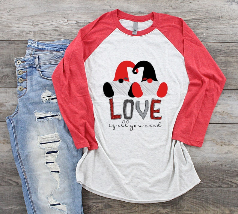Download Love Is All You Need Valentines Sublimation Transfer Shirt ...