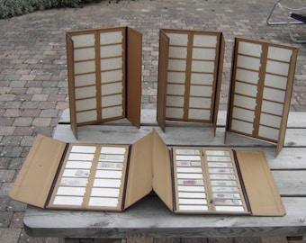 5 cartons pharmacie prélèvements laboratoire. Vintage.