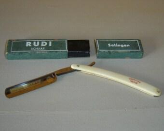 Shaver. Rasoir coupe chou. Rudi Schaff Solingen. Coupe choux. Vintage. Allemagne