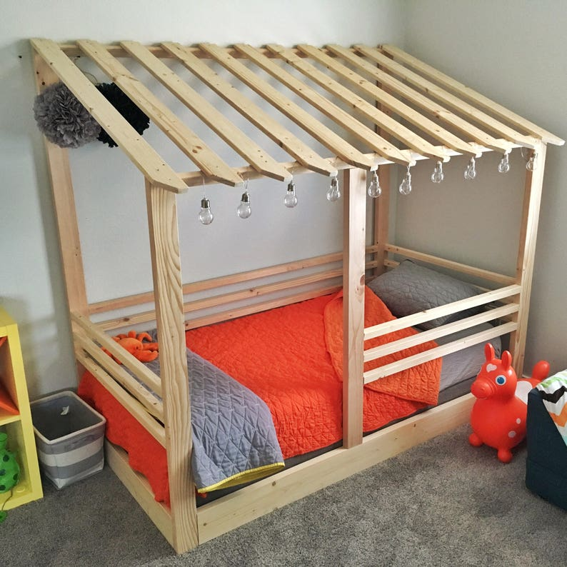 Fabulous Lean To House Bed Frame Twin Size Interior Design Ideas Gentotthenellocom