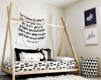 TeePee Bed Frame Twin Size Made in US