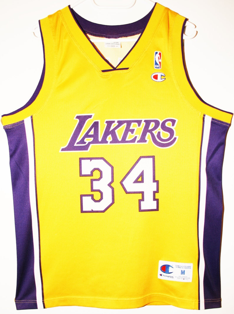 Champion NBA basketball jersey jersey Los Angeles Lakers  af9bb36b9