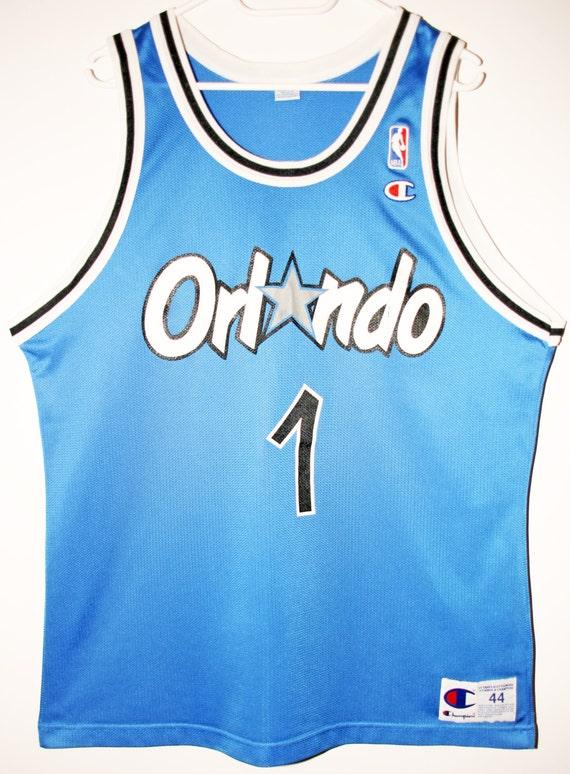 newest 98979 d1ad6 Champion NBA basketball Orlando Magic Penny Hardaway Jersey 44 L