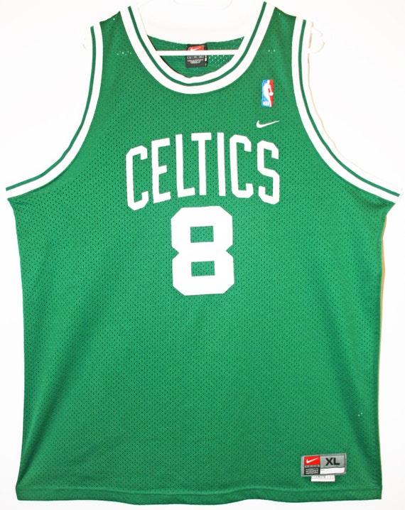 check out 93860 f3945 Nike NBA basketball jersey jersey Boston Celtics Antoine Walker 48 XL