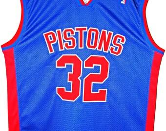 Champion NBA basketball Detroit Pistons Hamilton authentic Jersey Jersey XL