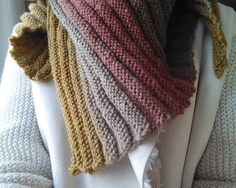 """Pretty scarf """"Sous Bois"""""""