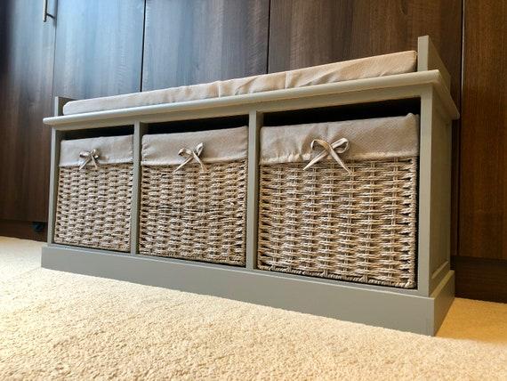 Pleasant Grey Classy Vintage Shoe Storage Bench Window Seat Hallway Furniture Ottoman Camellatalisay Diy Chair Ideas Camellatalisaycom