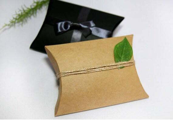 5 kleine kissen boxen schwarze geschenkbox etsy