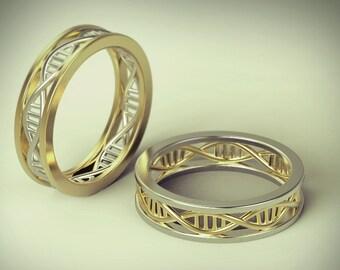Nerd Wedding Rings   Geek Wedding Ring Etsy