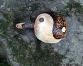 Yin Yang Turtle with wood...