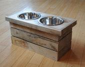 Dog Feeding Station with ...