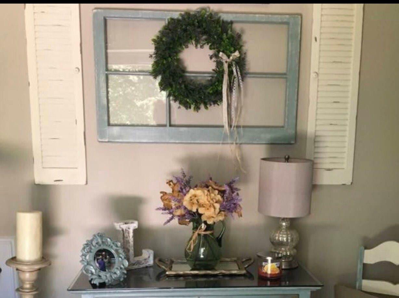 pane pane decor window wreath wood for wood Christmas wood window 6 mantel hanger 6 for window frame wedding her SALE gift window oCQBeExrdW