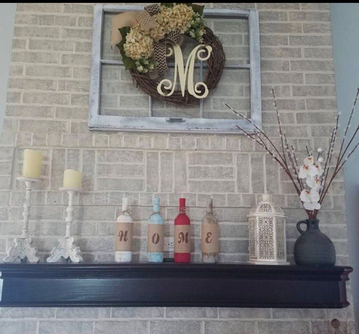 Sale 6 Pane Window Wood Window Frame Wreath Hanger Window Etsy