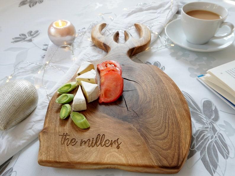 Personalized Bread Board personalized kitchen Decor personalized  Board Hunter Gift Personalized Cutting Board Rustick Cutting Board