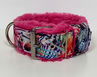 Softshell Heavy Duty Dog Collar - High Quality - Padding as option