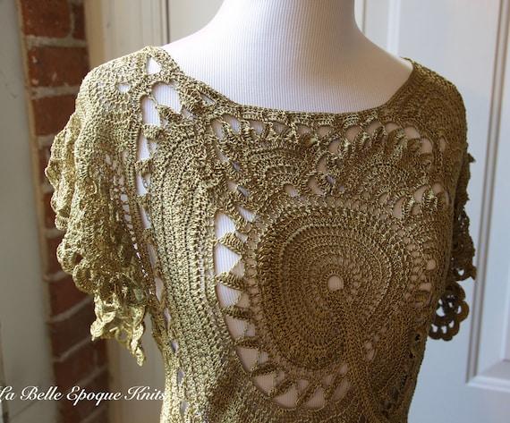 Top alla moda crochet designer crochet top ordine etsy