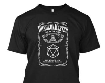 Dungeons and Dragons Dungeon Master Shirt RPG Roleplaying Games