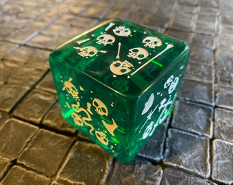 Gelatinous Cube mini that are also a DIE! Dungeons and Dragons, Pathfinder  Dungeon Master, DM, RPG