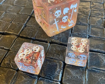 Kick Backer Add-On Only - Five total dice (one 51mm and four 25mm) - super limited edition