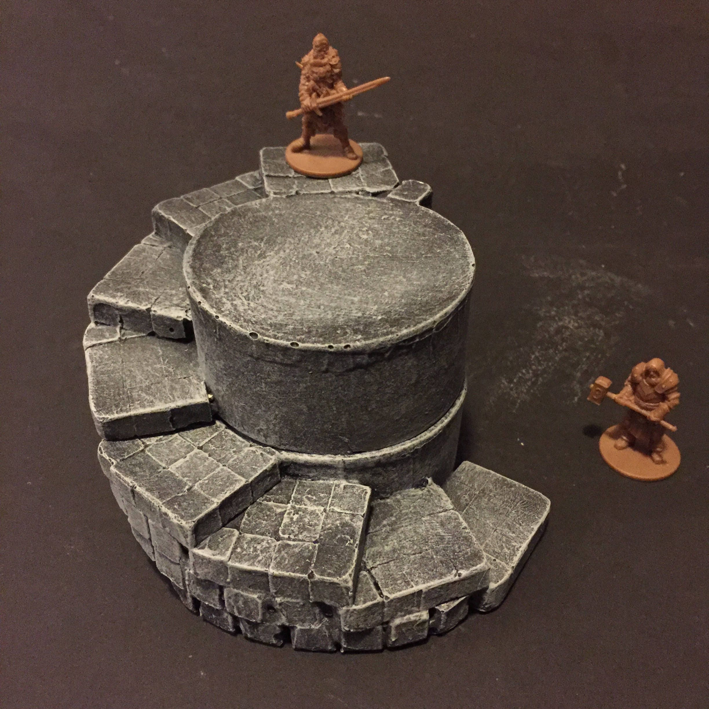 Spiral Stairs Etsy Circuit Board Robot Beetle Miniature Miniatures Pinterest 50