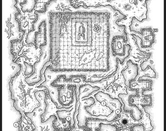 Dead Milkmen RPG Maps - DnD D&D Dungeons and Dragons RPG OSR Role playing Games