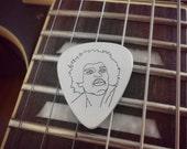Jimi Hendrix Silver Guitar Pick