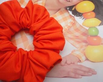 Bright Orange, Tangerine Scrunchie, Summer Brights, Scrunchie Cult