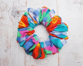 Scrunchie In Summer Brights Vintage Fabric A Must For This Seasons Wardrobe