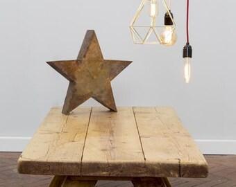 HOLT - Handmade Reclaimed Wood Coffee Table. Custom Made To Order.