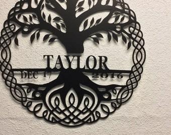 Celtic Tree Of Life custom with love loops
