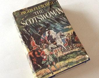 The Scotswoman - Inglis Fletcher - Book Decor - North Carolina - Literary Gift - Classic Literature - Historical Fiction