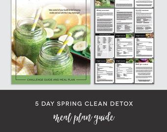 5 Day Spring Clean Detox Meal Plan