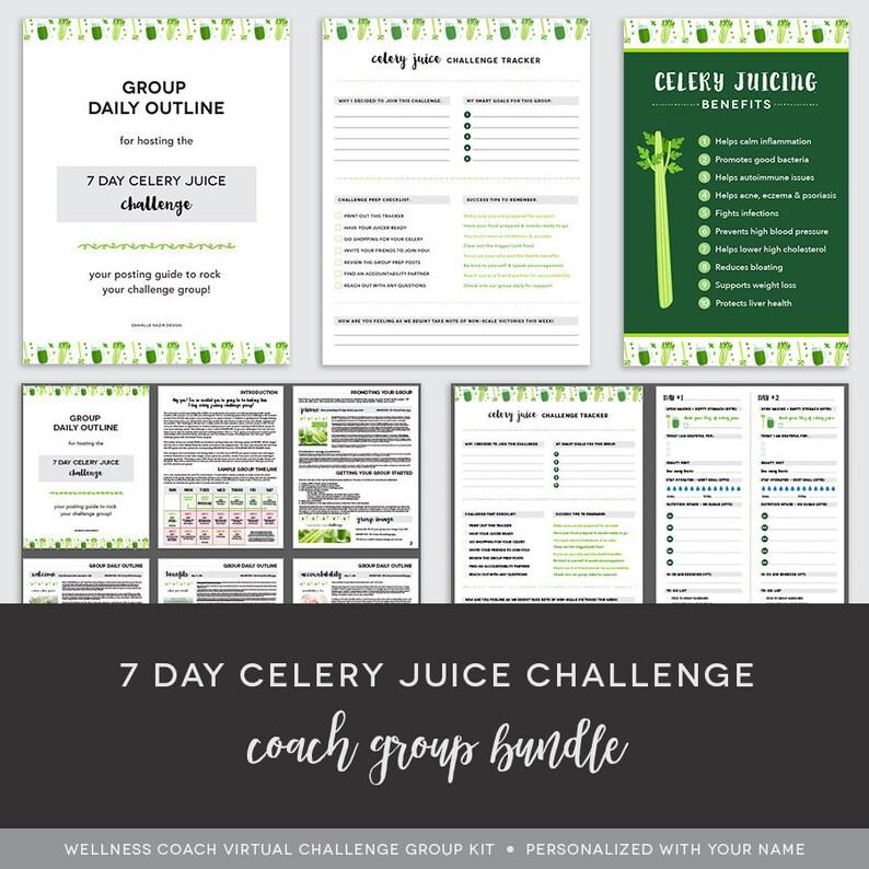 Coach Group Bundle : 7 Day Celery Juice Challenge