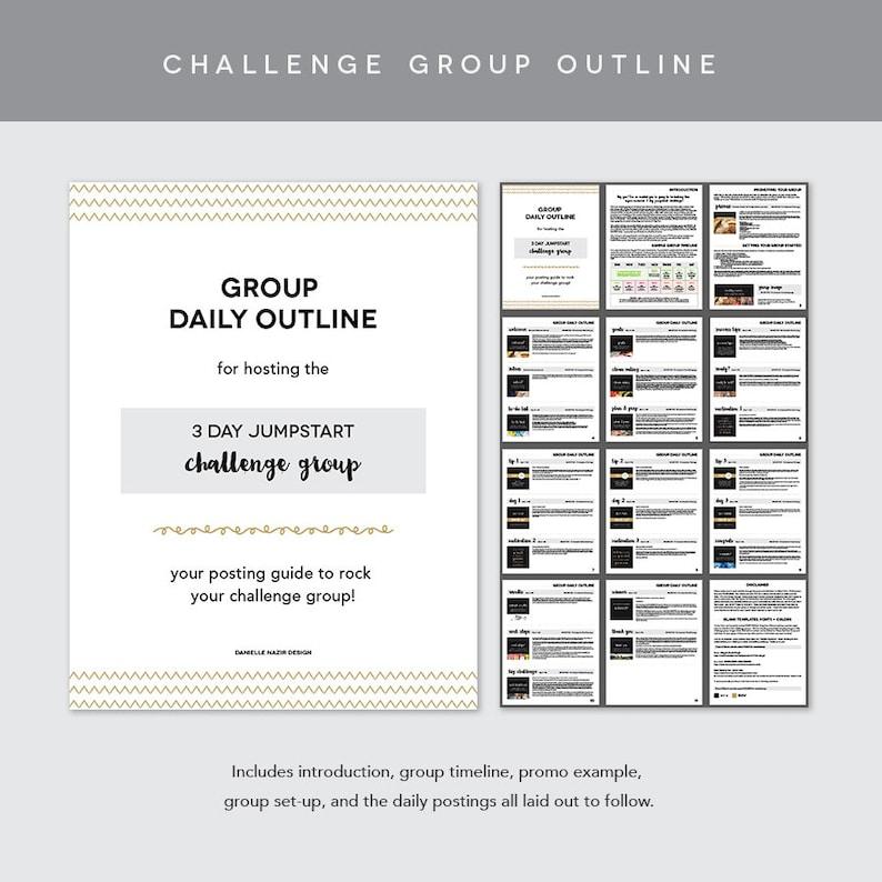 Coach Group Bundle : 3 Day Jumpstart Challenge
