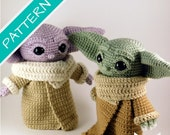 Baby Alien Amigurumi Pattern PDF File