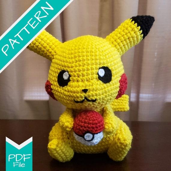 Pikachu Free Crochet Pattern • Spin a Yarn Crochet | 570x570