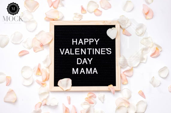 Happy Valentine S Day Mama Valentines Letterboard On Etsy
