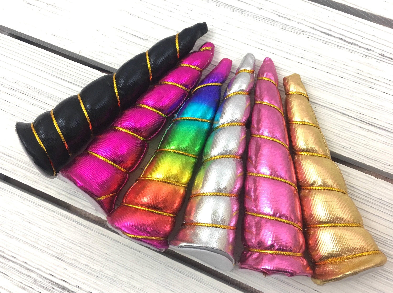 "4/"" Padded Unicorn Horn Halloween DIY Costume Birthday Crafts Supply USA SELLER"