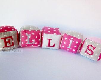 Baby name blocks - Personalized name