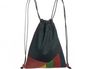 Anthracite Sack/colored lines