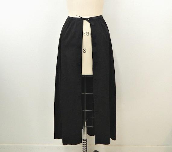 Vintage Black Overskirt ... Victorian/Edwardian Er