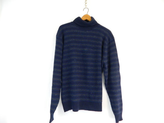 Vintage Polo By Ralph Lauren Ribbed Turtleneck Swe