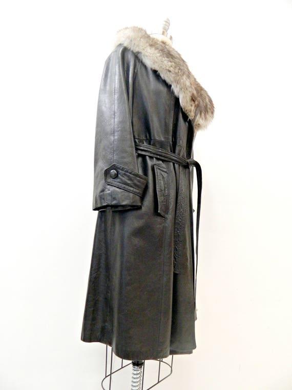 Fourrure Col De Manteau Eewcsfrpq Vêtements Pour Cuir Femme Vintage bf6vmg7yIY