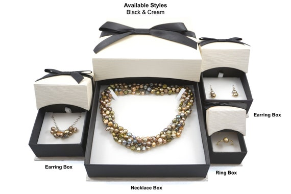 12//24//48//96 Quality Jewellery Gift Boxes Bag Necklace Bracelet Ring Christ#bgs